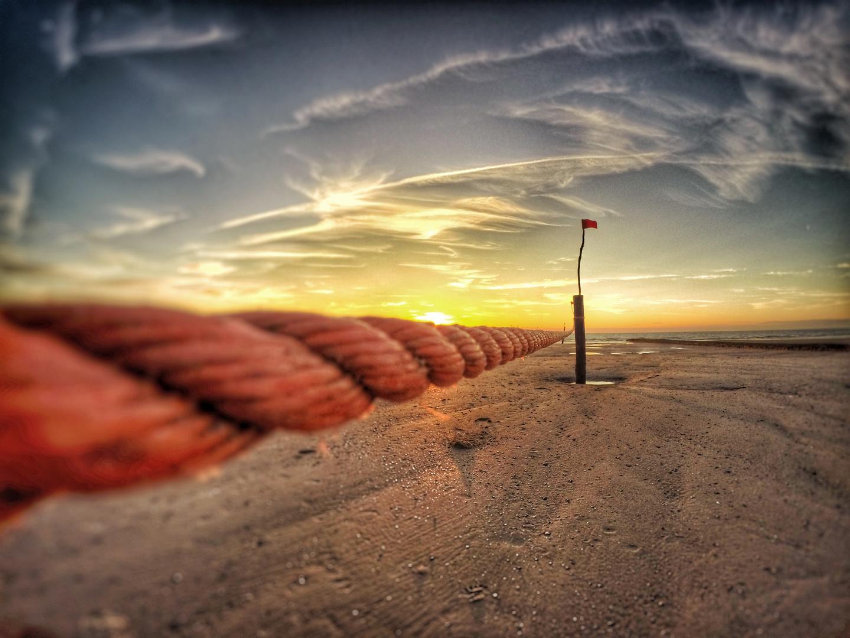 Abends am Strand...