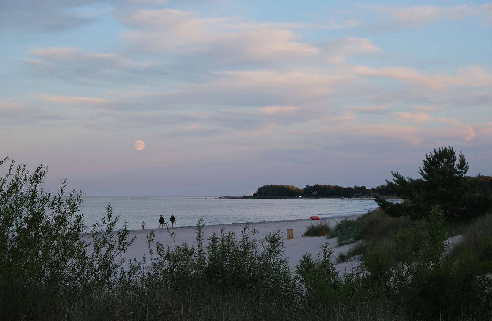 Abends am Strand II