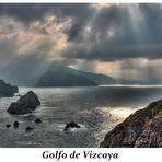 Abends an der baskischen Atlantikküste