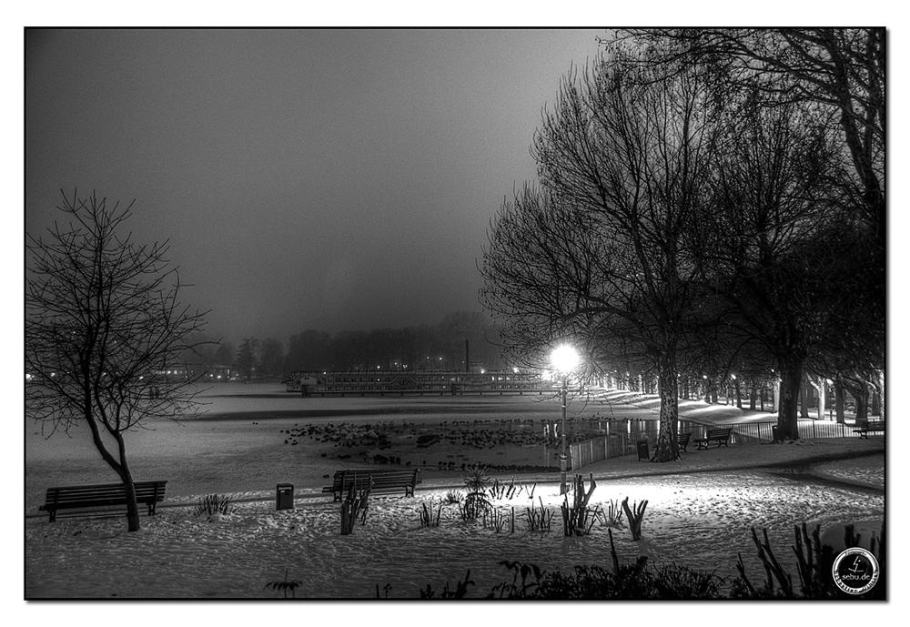 Abends an der Greenwichpromenade 3