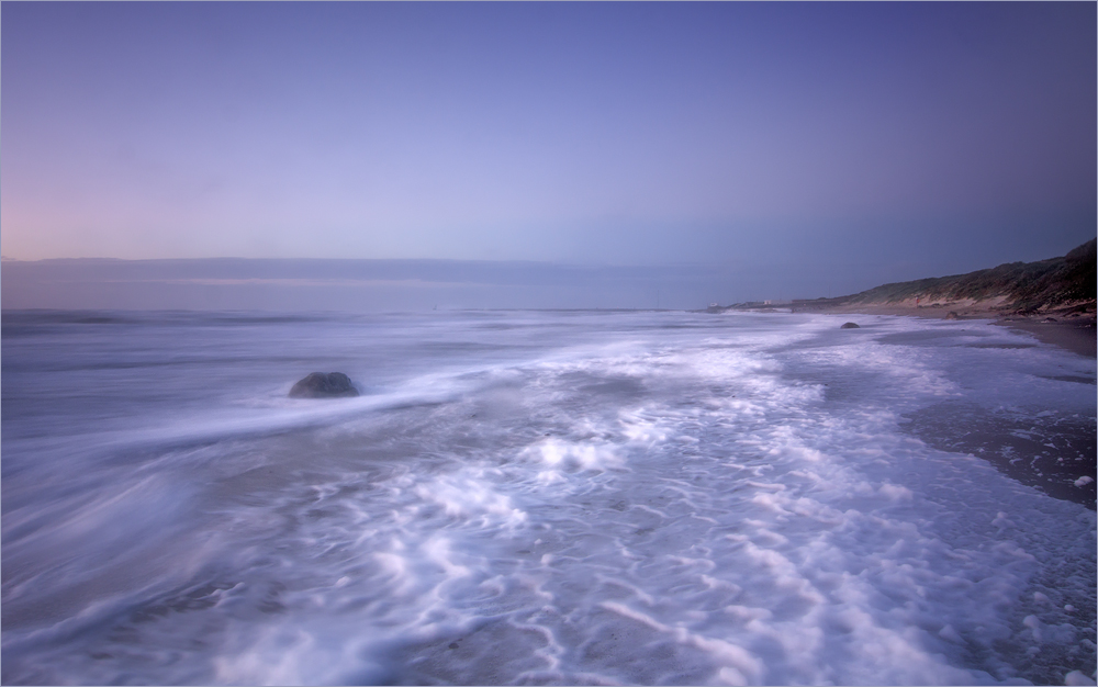 Abends an der Nordsee