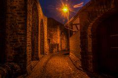 Abends an der Stadtmauer