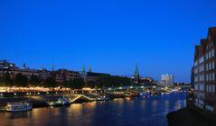 ... abends an der Weser