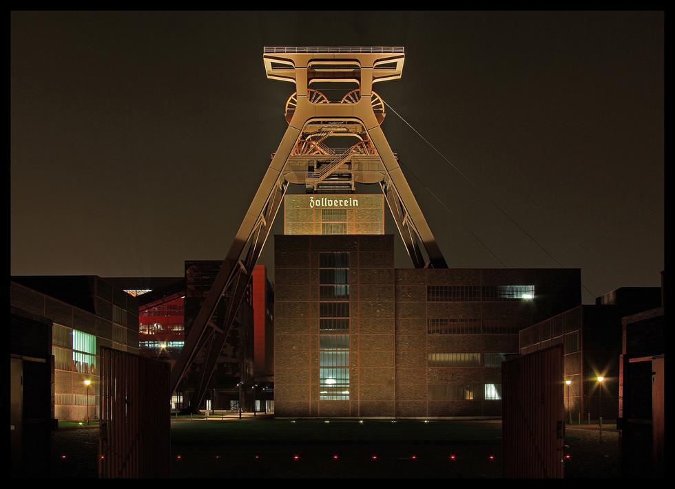 abends auf Zollverein (2.)