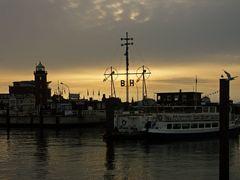 Abends im Hafen....