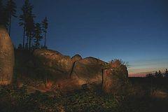 Abends im Harz