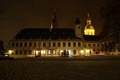 Abends im Klosterhof...