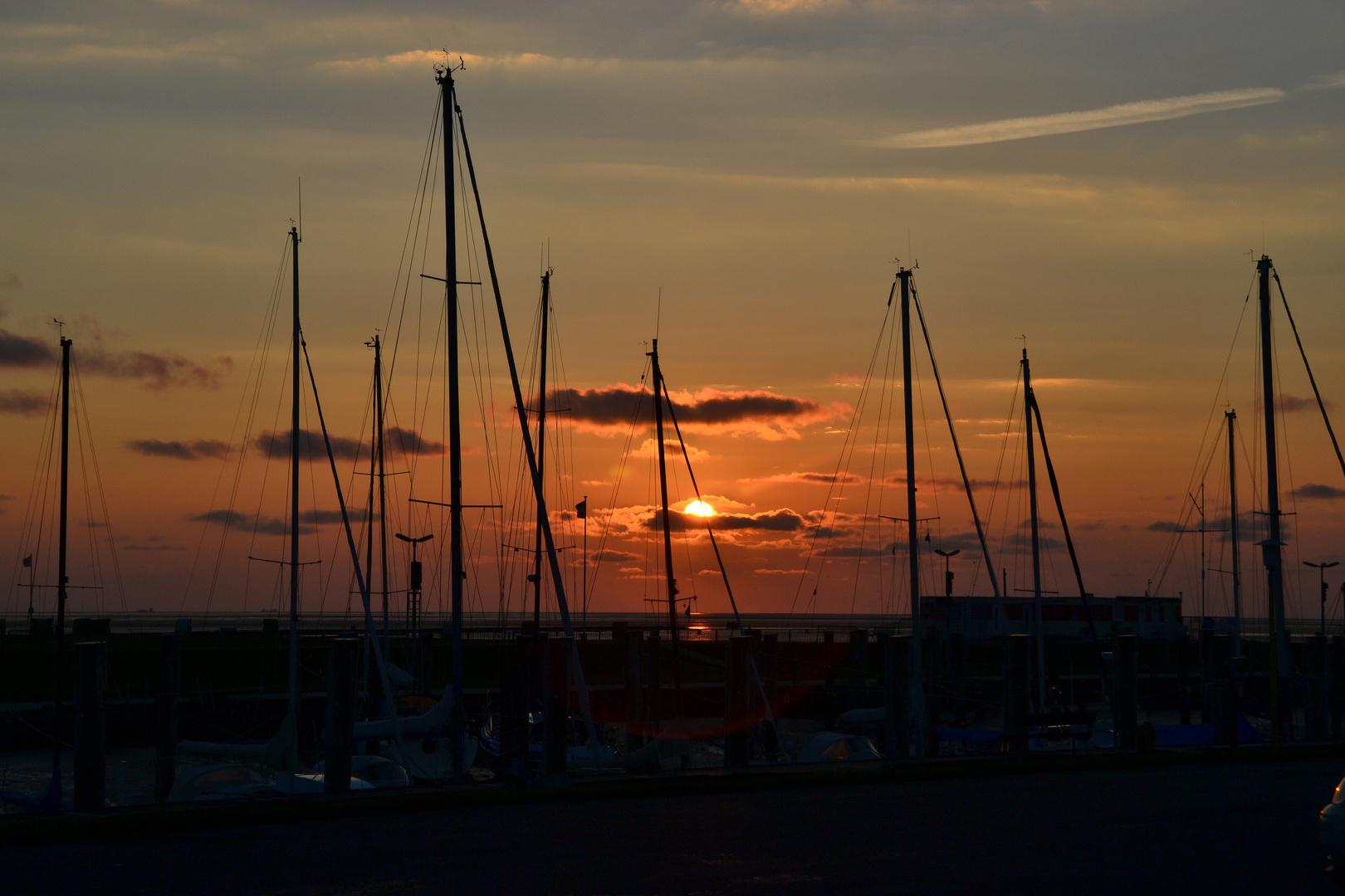 Abends im Kutterhafen...