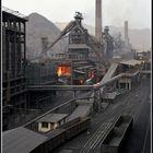 Abends im Stahlwerk
