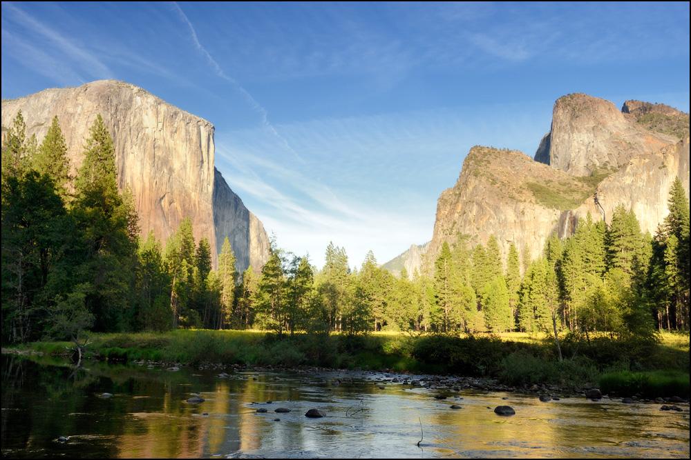 [ Abends im Yosemite Valley ]