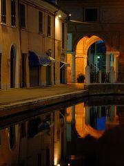 Abends in Comacchio