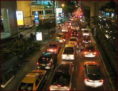 abends in der stadt- Bangkok 2009