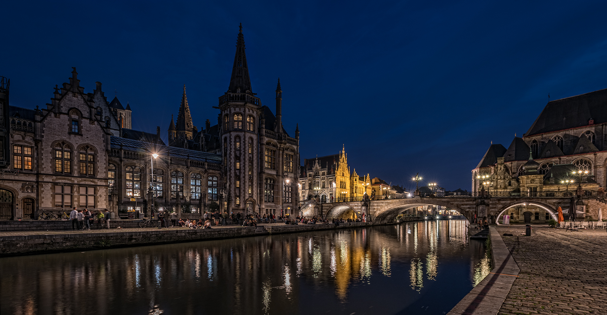 Abends in Gent