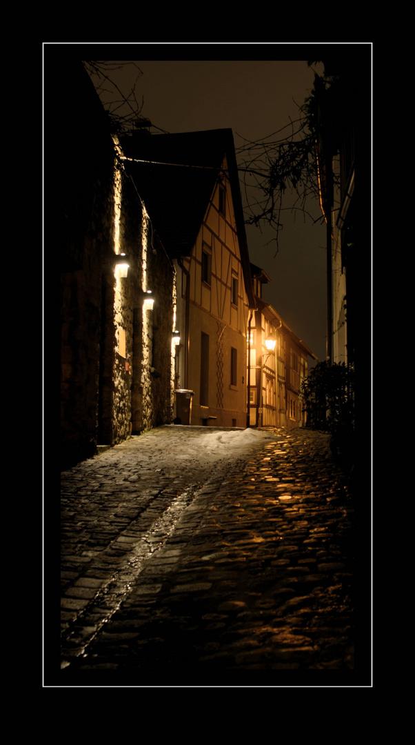 Abends in Heppenheim ...