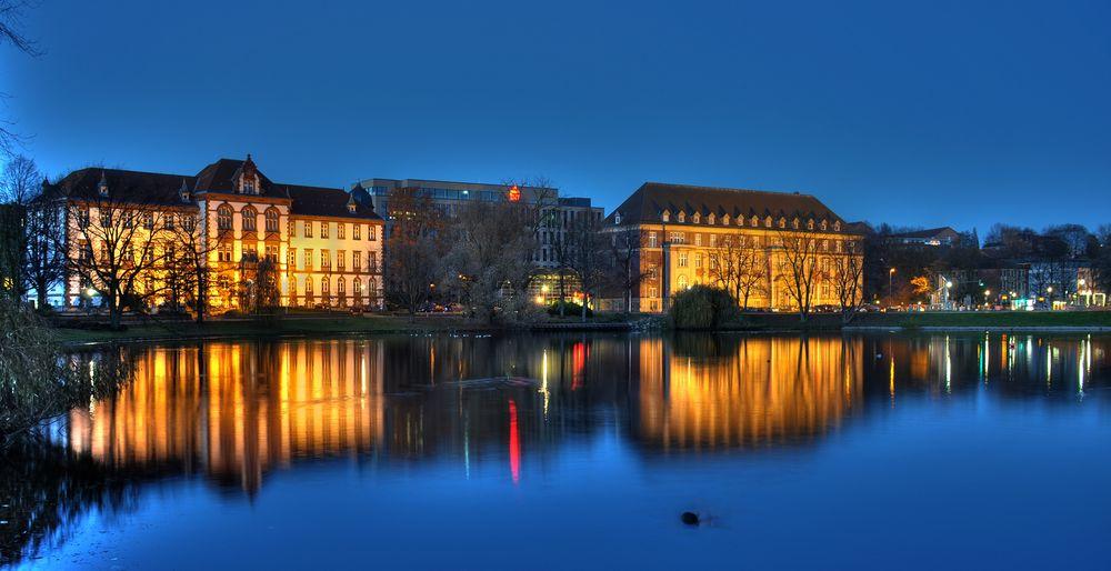 Abends in Kiel