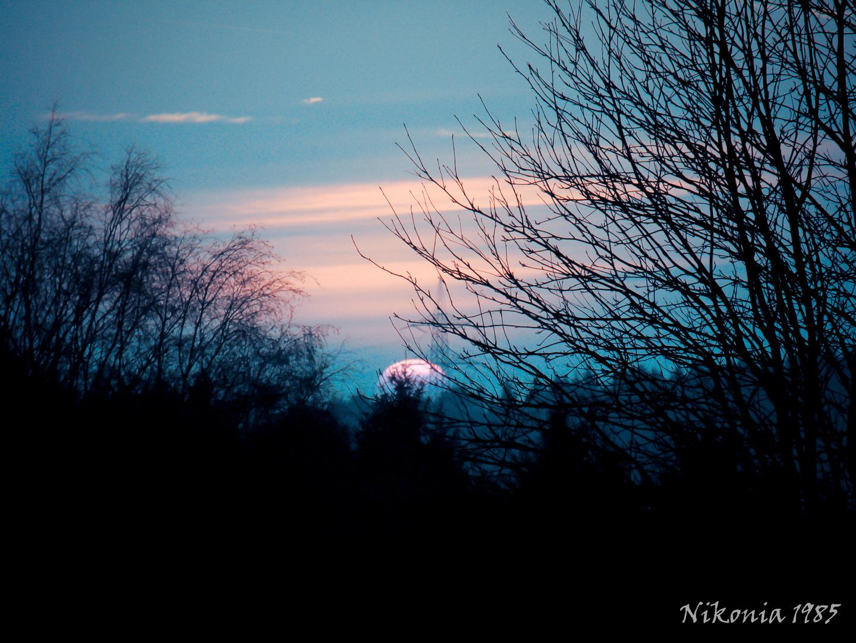 Abends in Oberberg
