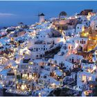 abends in oia.....