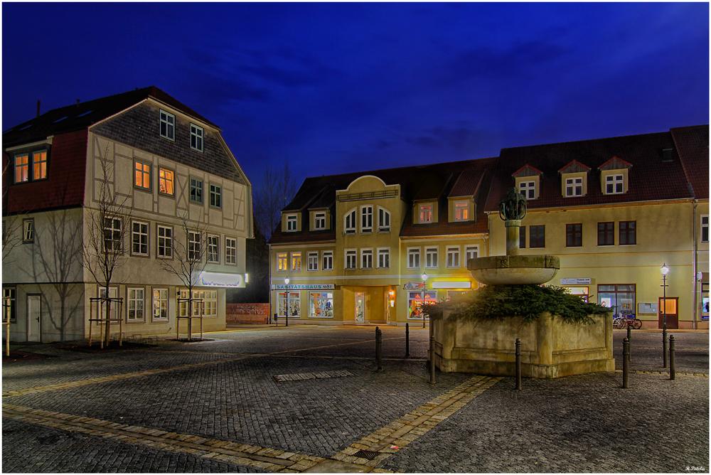 Abends in Oschersleben