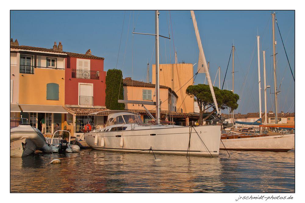 Abends in Port Grimaud..