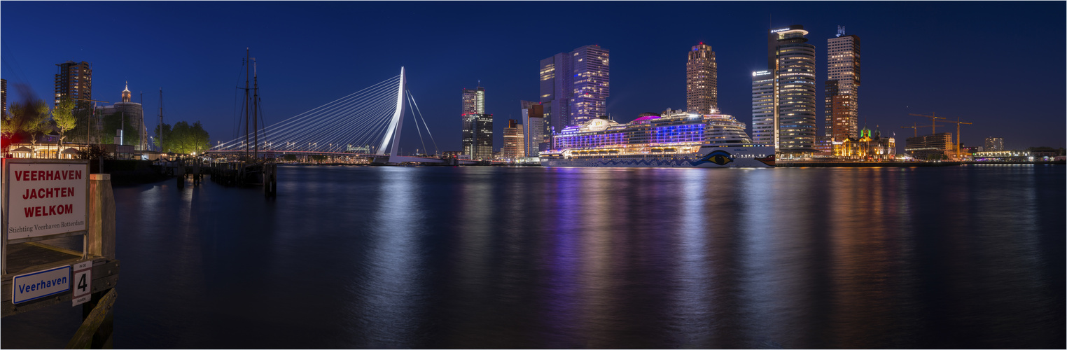 Abends in Rotterdam