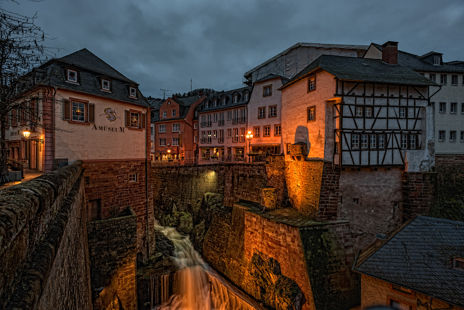 Abends in Saarburg