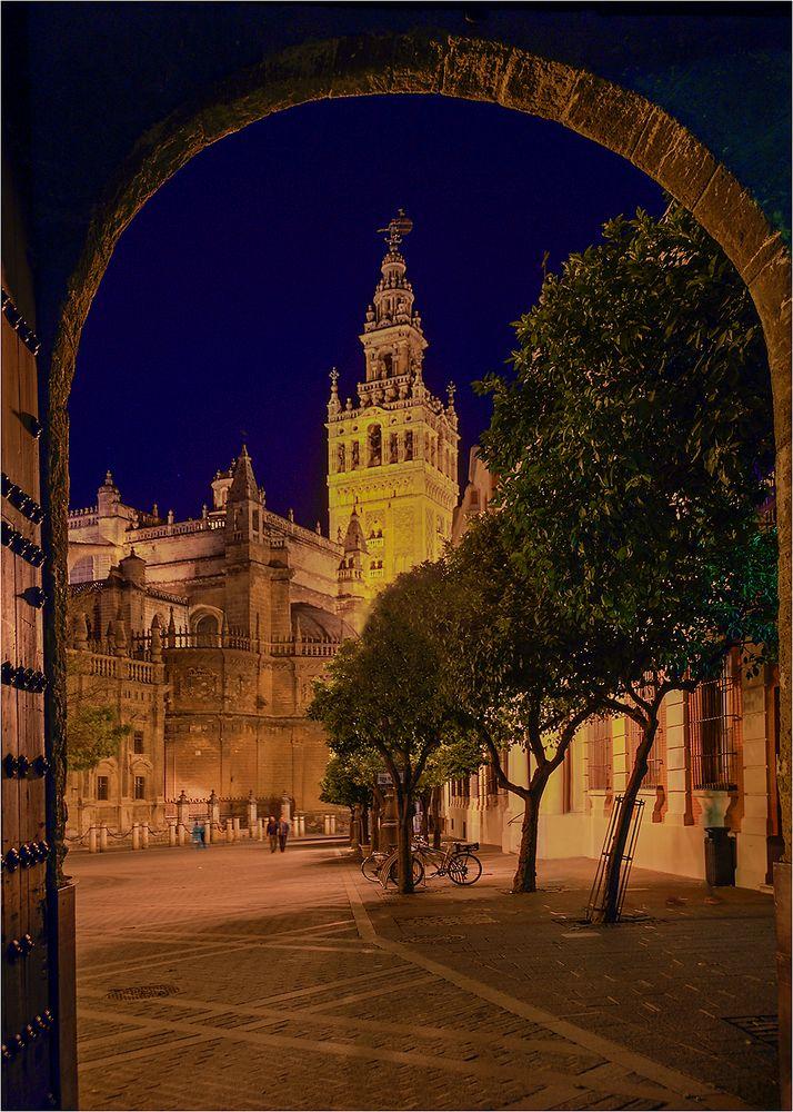 Abends in Sevilla