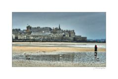 - Abends in St. Malo -