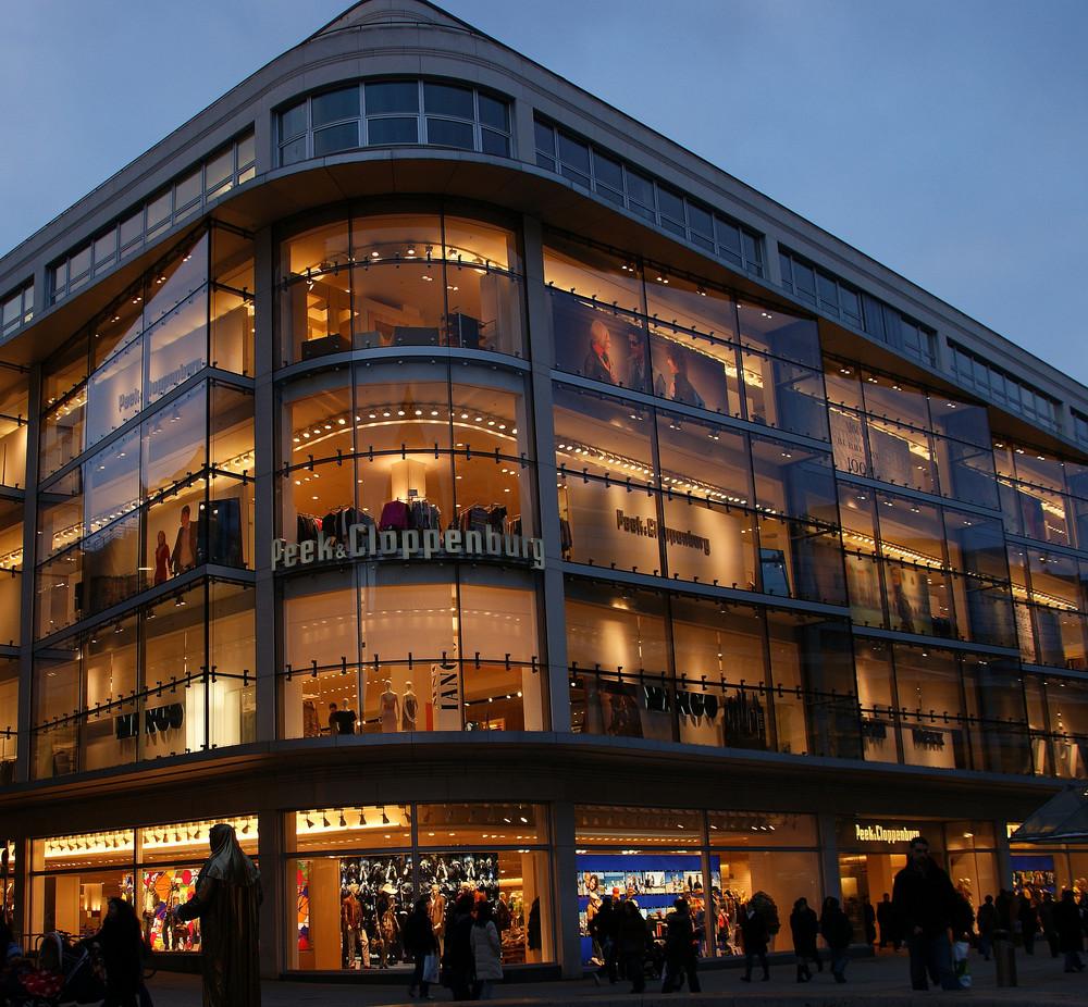 Abends in Stuttgart