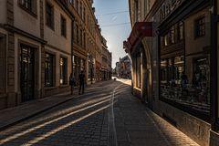 Abends in Zwickau