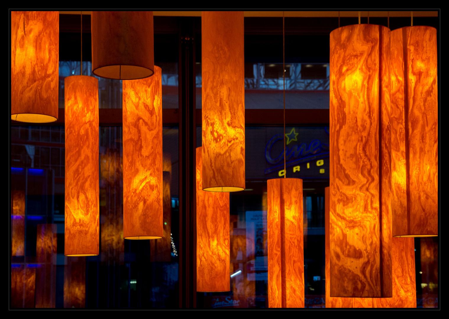 Abends - Stadtansichten Berlin - Sony Center
