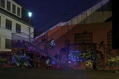 Abends unter der Brücke 3