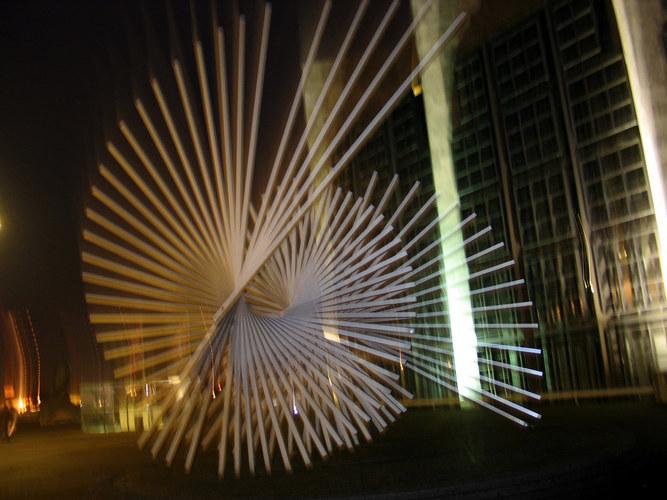 Abends vor Rathaus