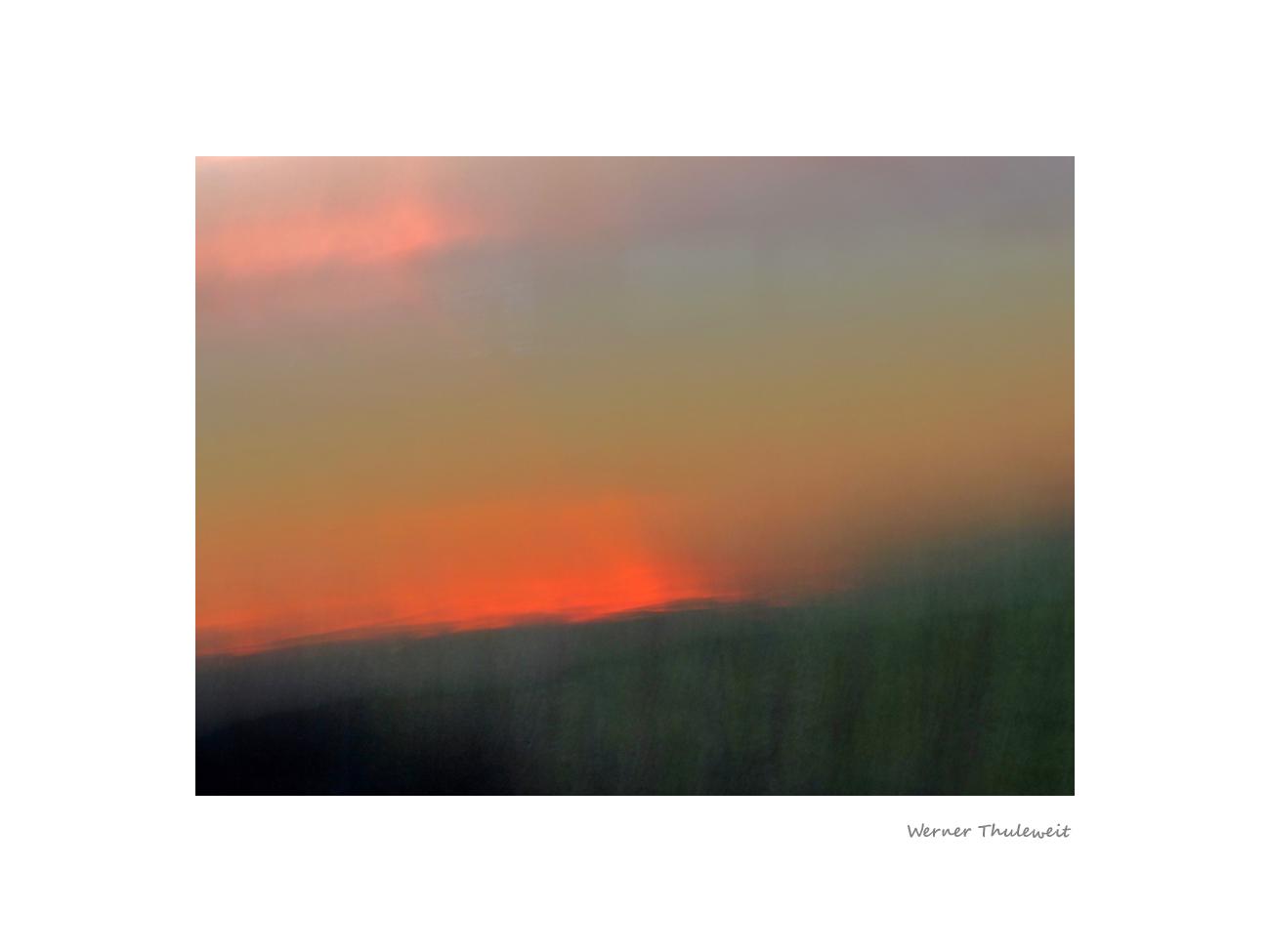 Abendsinfonie im Knüllgebirge