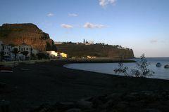Abendsonne am Playa de Santiago
