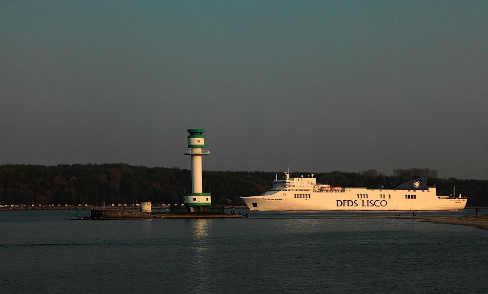 Abendsonne an der Kieler Förde