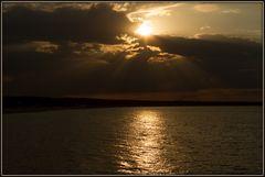 Abendsonne an der Ostsee