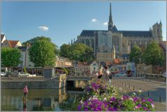 Abendsonne in Amiens...
