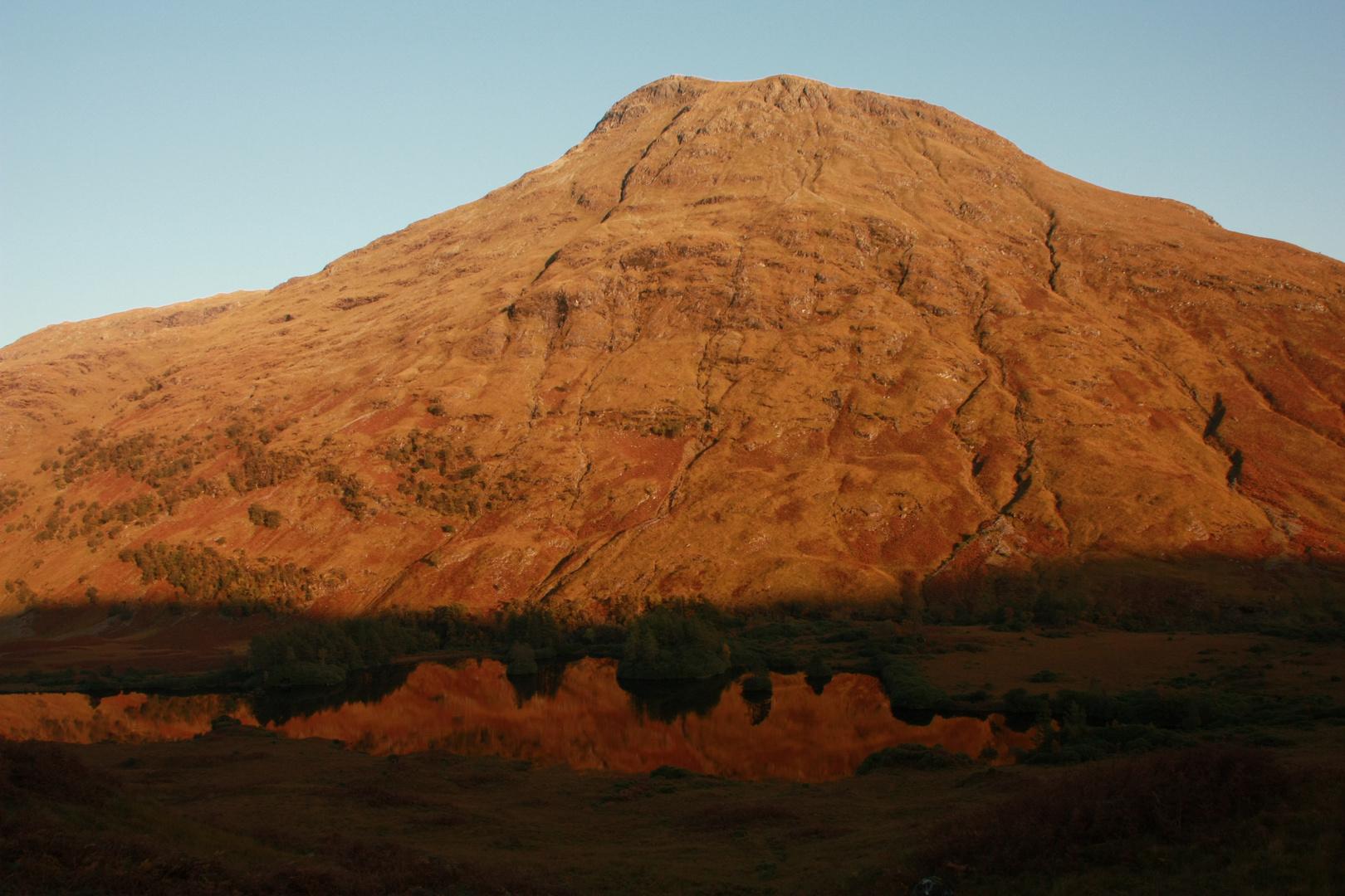 Abendsonne in den Highlands