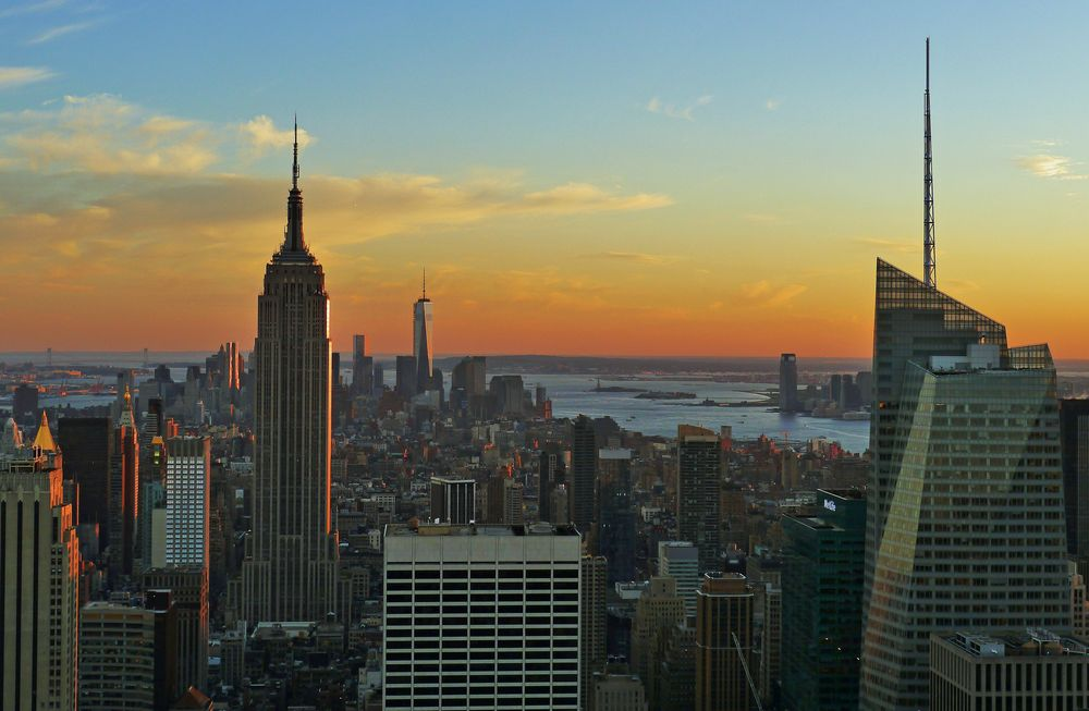 Abendsonne in NYC