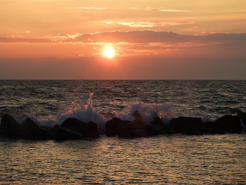 Abendsonne über dem Strand von Wustrow Foto & Bild | fdz