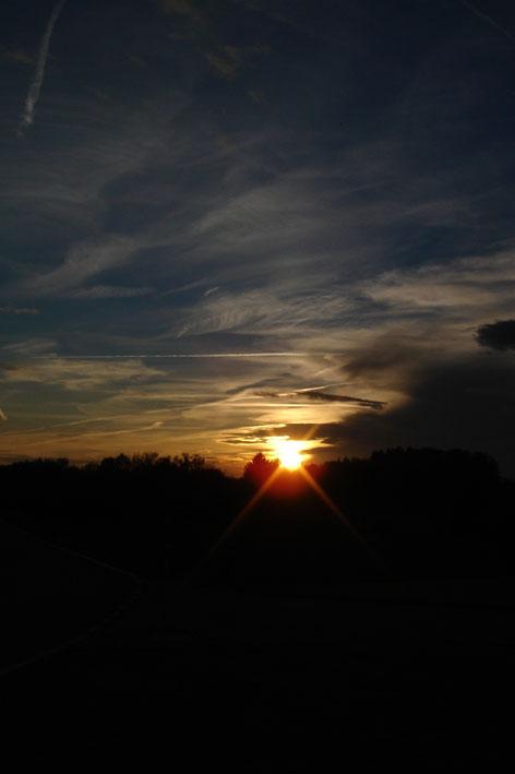Abendsonne über Zumikon