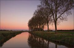 Abendstille am Kanal