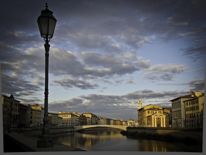 Abendstimmung am Arno