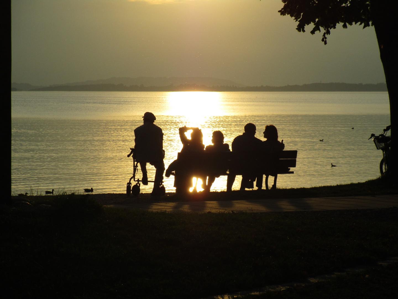 Abendstimmung am Chiemsee