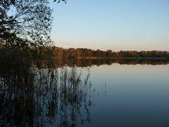 Abendstimmung am Falkenhagener See