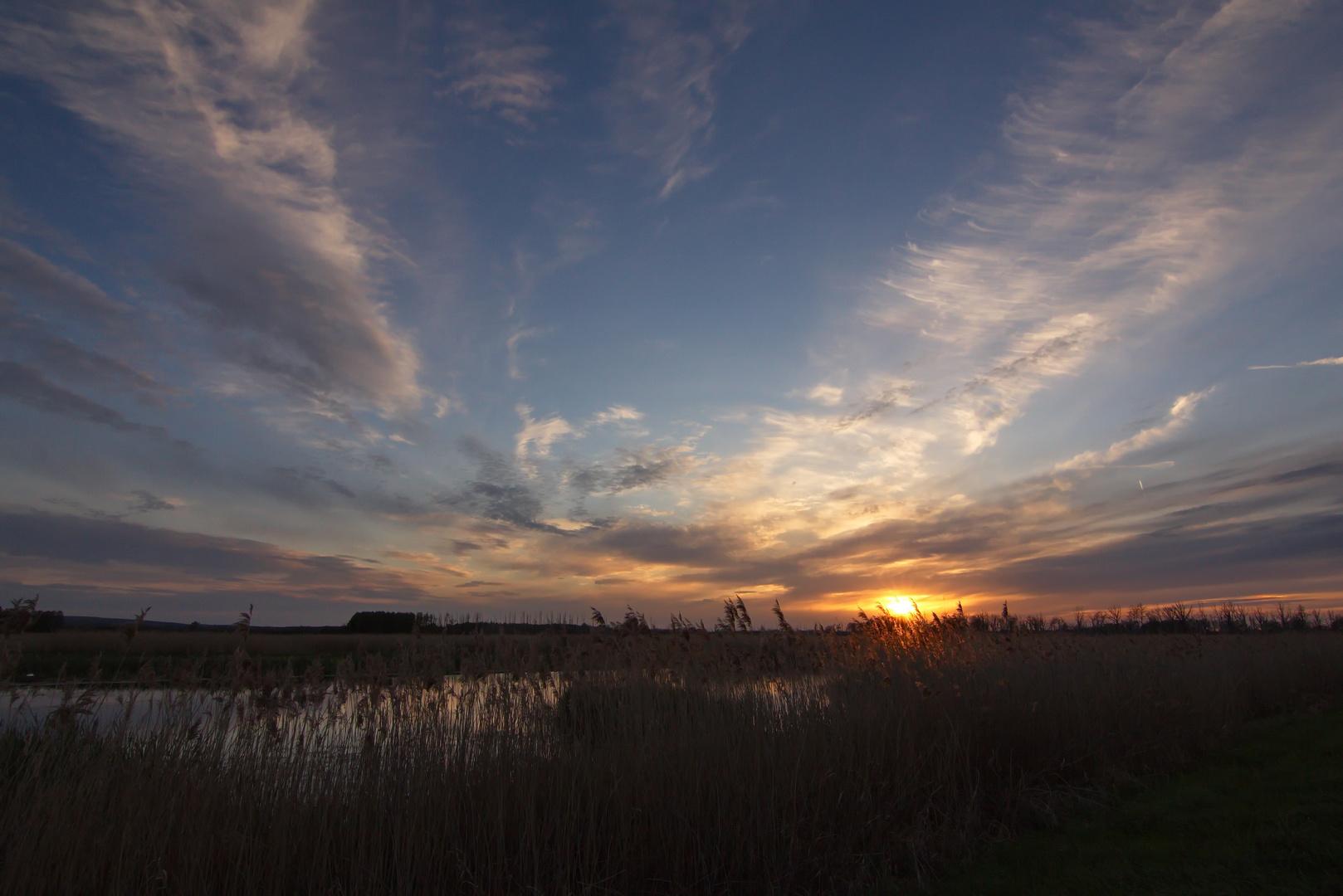 Abendstimmung am Galenbecker See