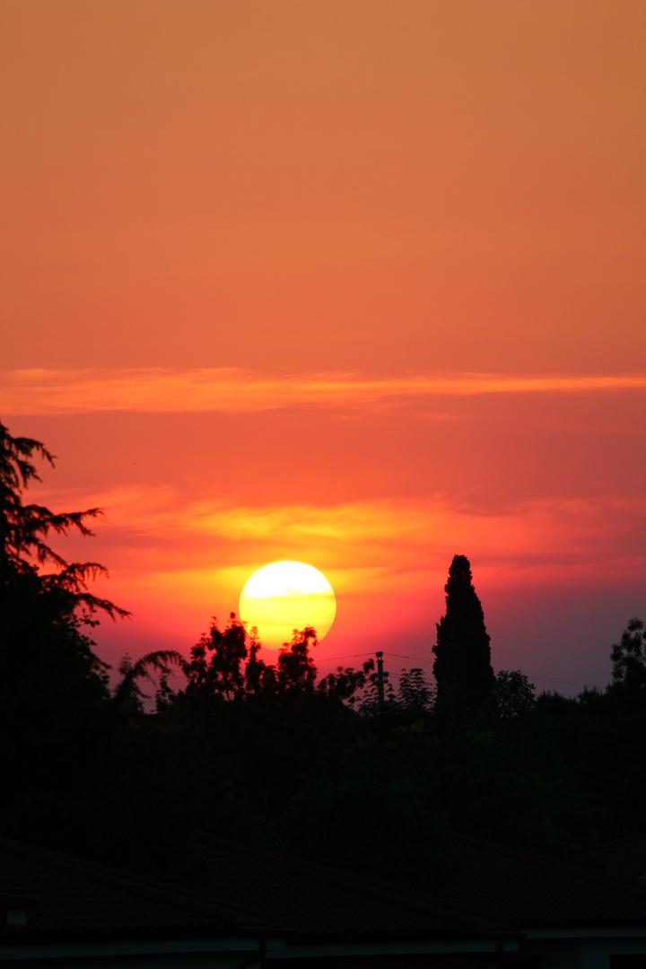 Abendstimmung am Gardasee, Italien