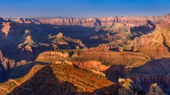 Abendstimmung am Grandview Point, Grand Canyon, Arizona, USA