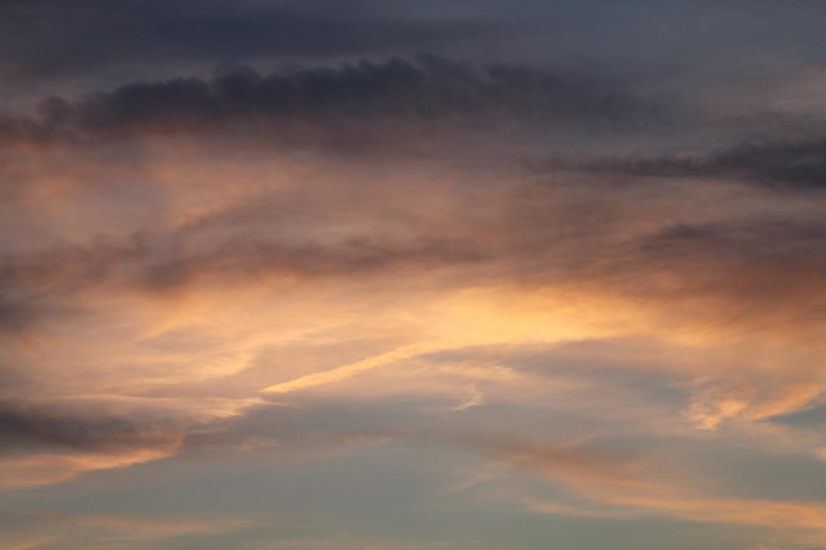 Abendstimmung am Himmel