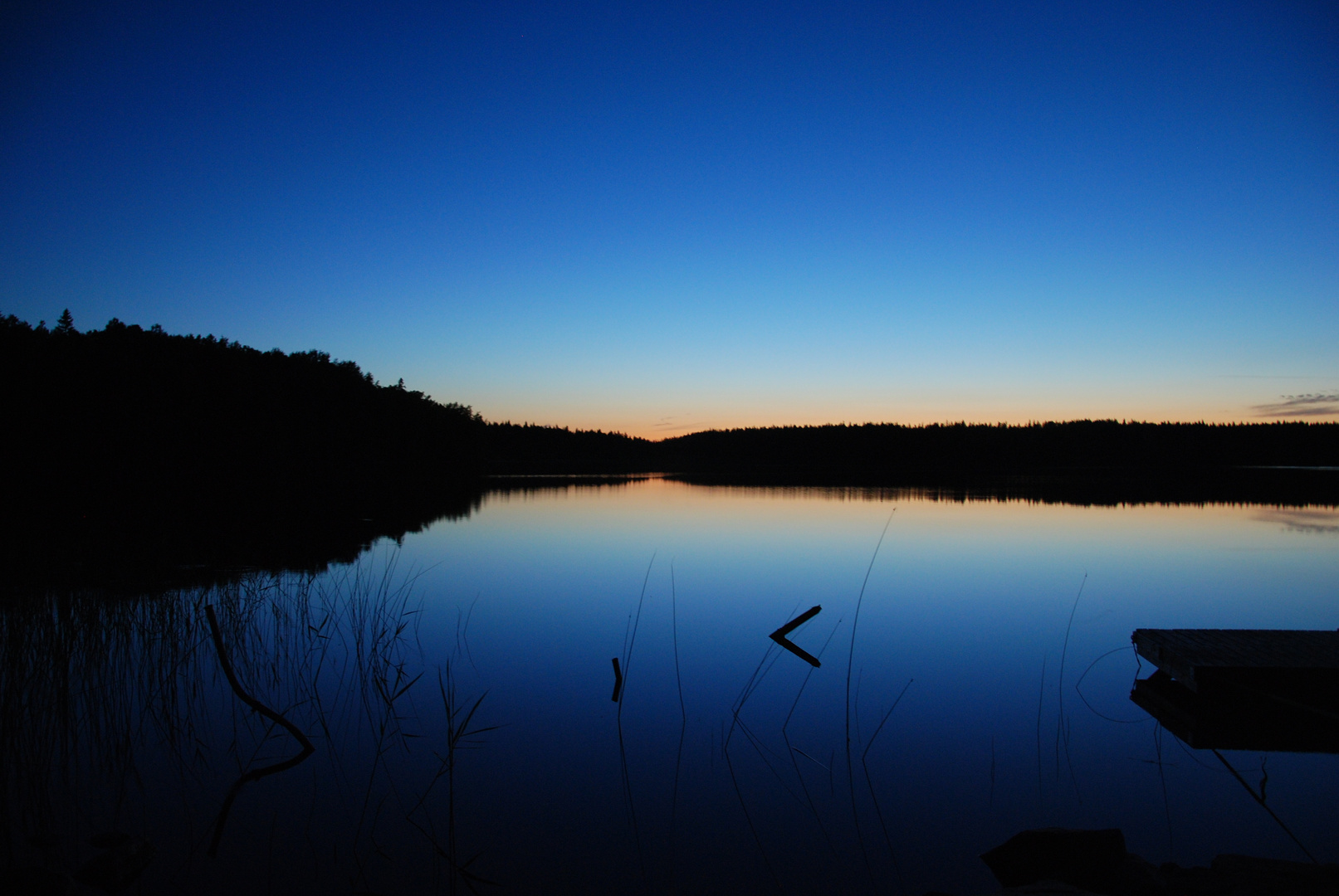 Abendstimmung am Kiasjön